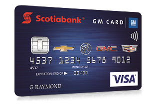 Gm Credit Card >> Scotiabank Newcomers To Canada Before You Begin