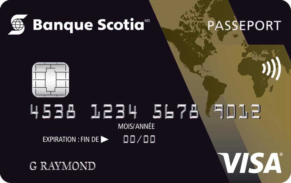 American Express Carte Or Avec Primes.Carte Visa Or Scotia Passeport